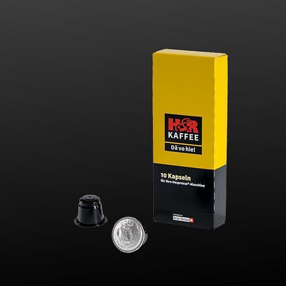 H&R Kapseln – für Ihre Nespresso©-Maschine